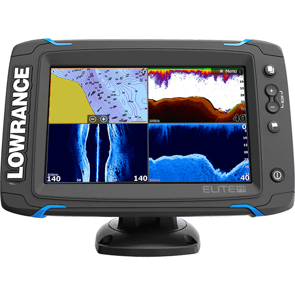 Lowrance fish finder lcd