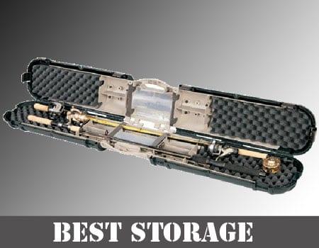 Best fishing rod storage