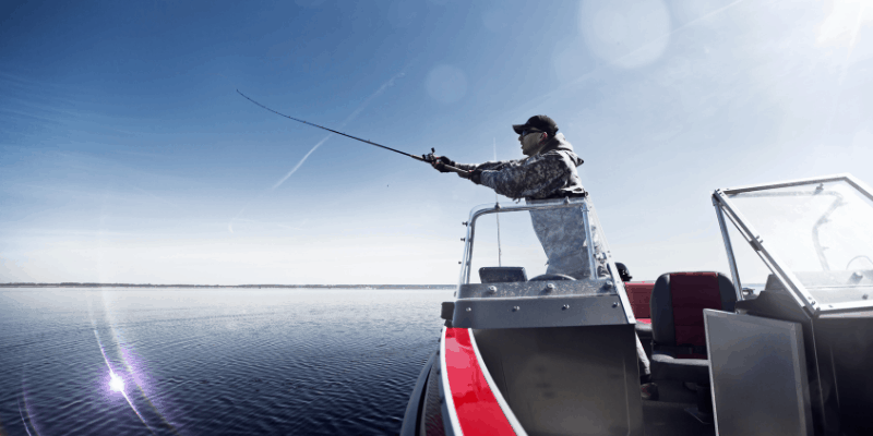casting a braid line with leader