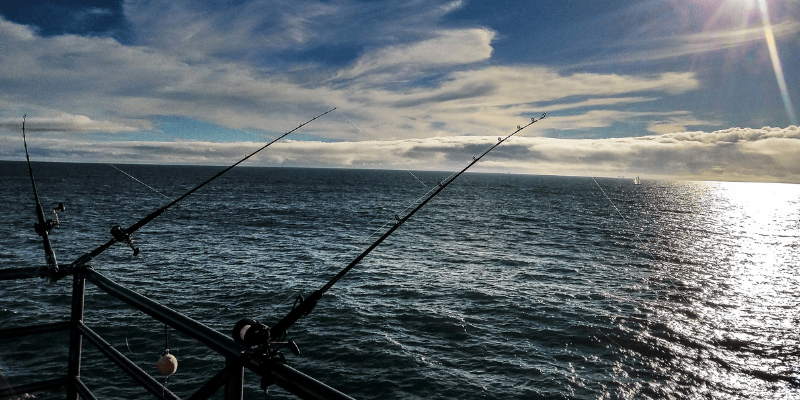 can you fish off a pier