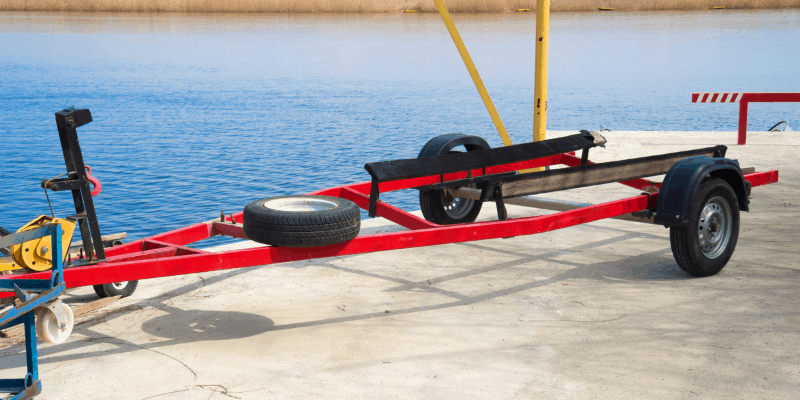 get boat trailer ready in spring